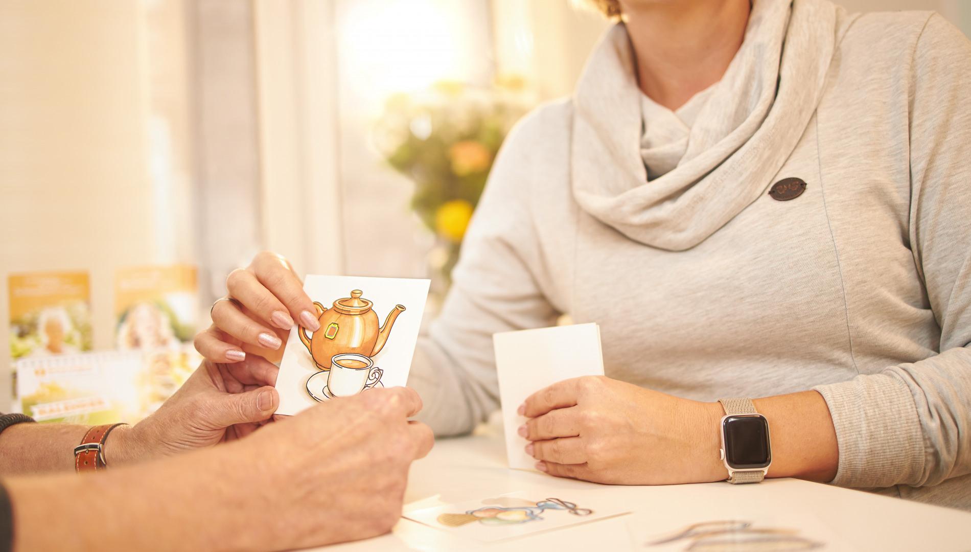 Aphasie Therapie: Logopäden können helfen