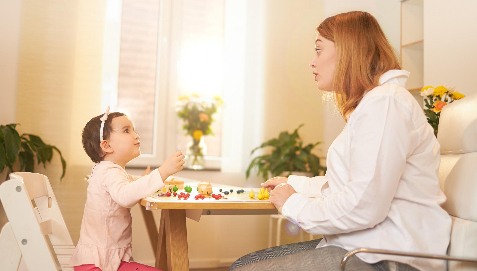 Sprachentwicklungsstörung (SES/SEV) bei Kleinkindern