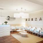 Moderne Behandlungsräume mit wohlfühlambiente