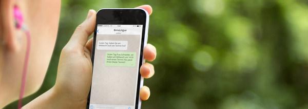 Logopäden per Handy erreichen